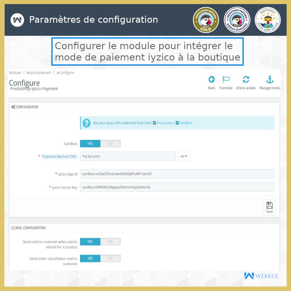 module - Paiement par Carte ou Wallet - Passerelle de paiement Iyzico - 10