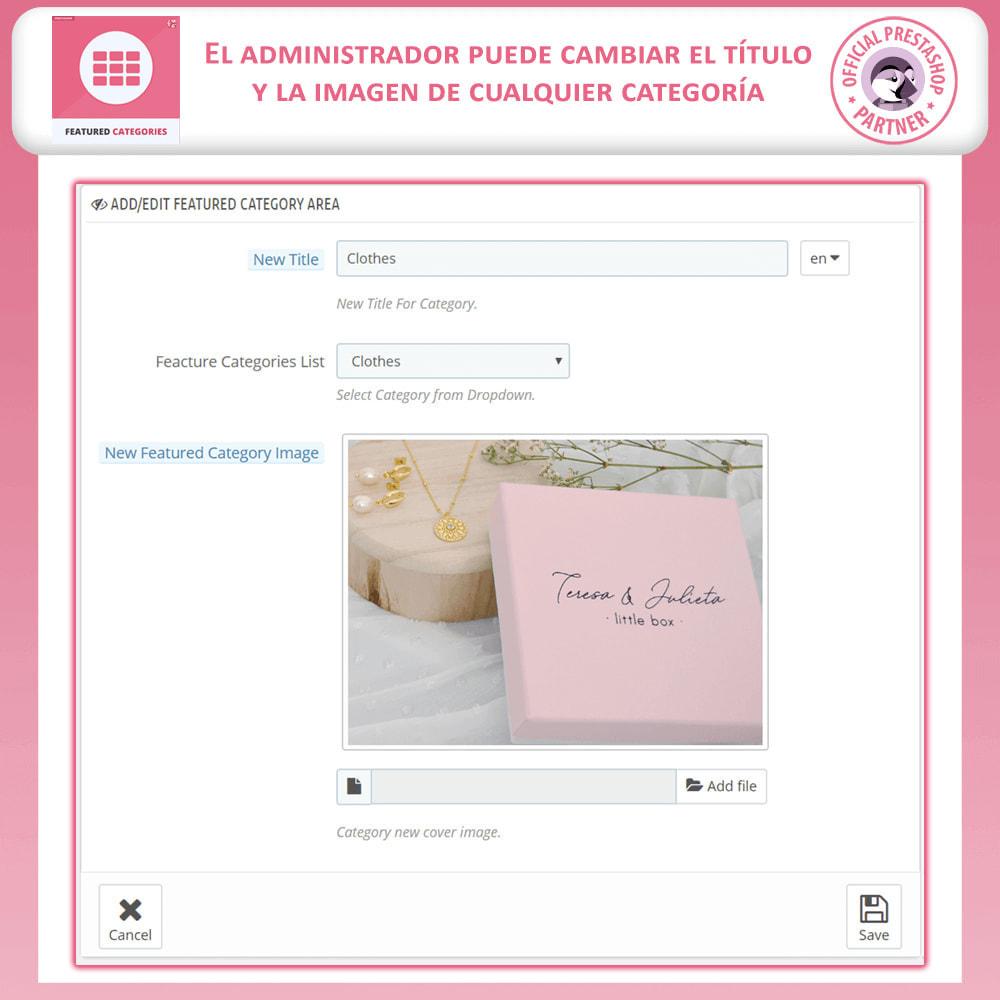 module - Personalización de la página - Categorías Destacadas - 8