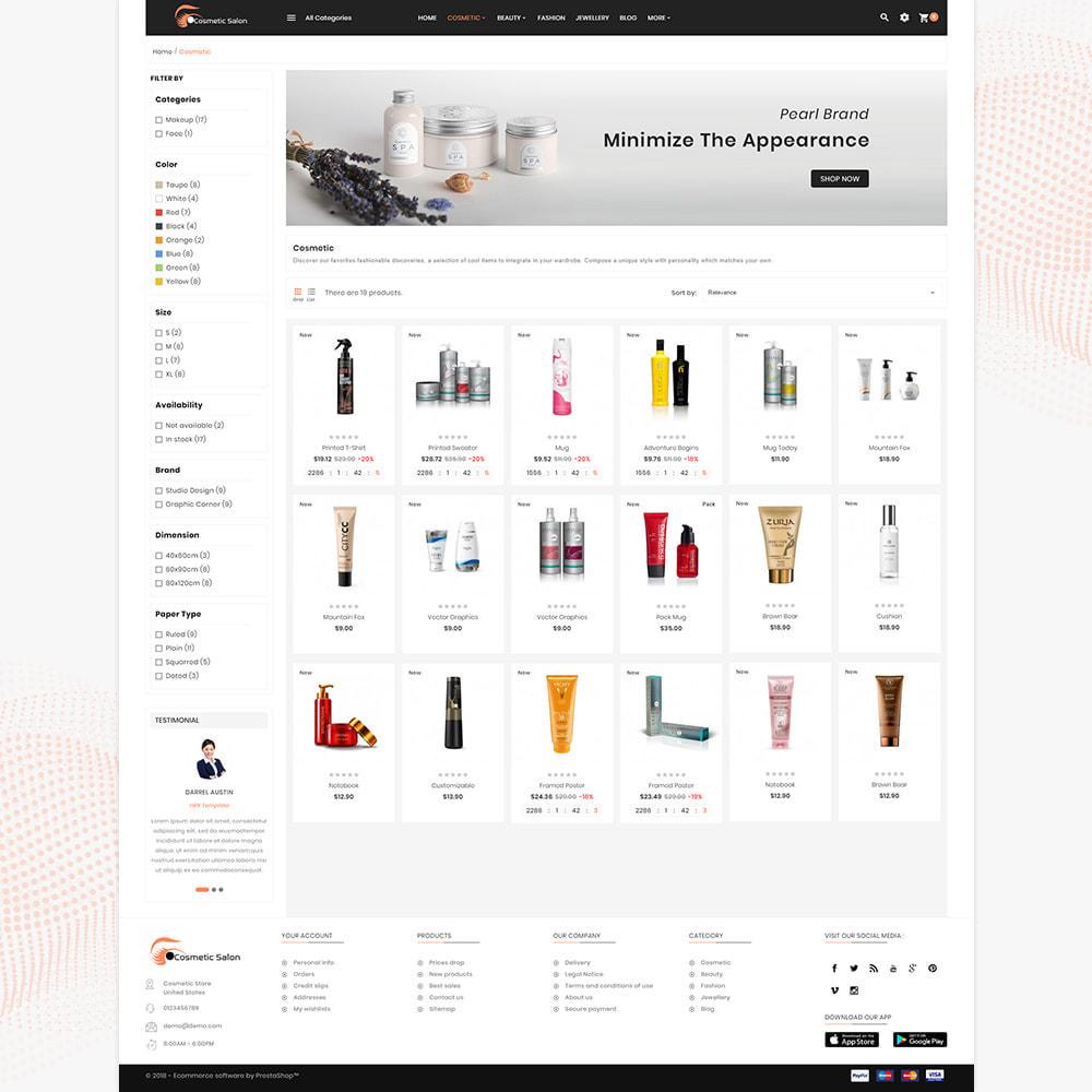 theme - Saúde & Beleza - Cosmétique – Fash Cosmetic Store - 3