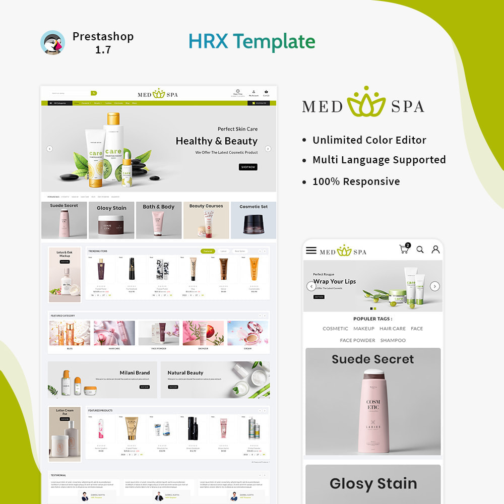 theme - Health & Beauty - cosmétique– Thai Cosmetic Spa Store - 1