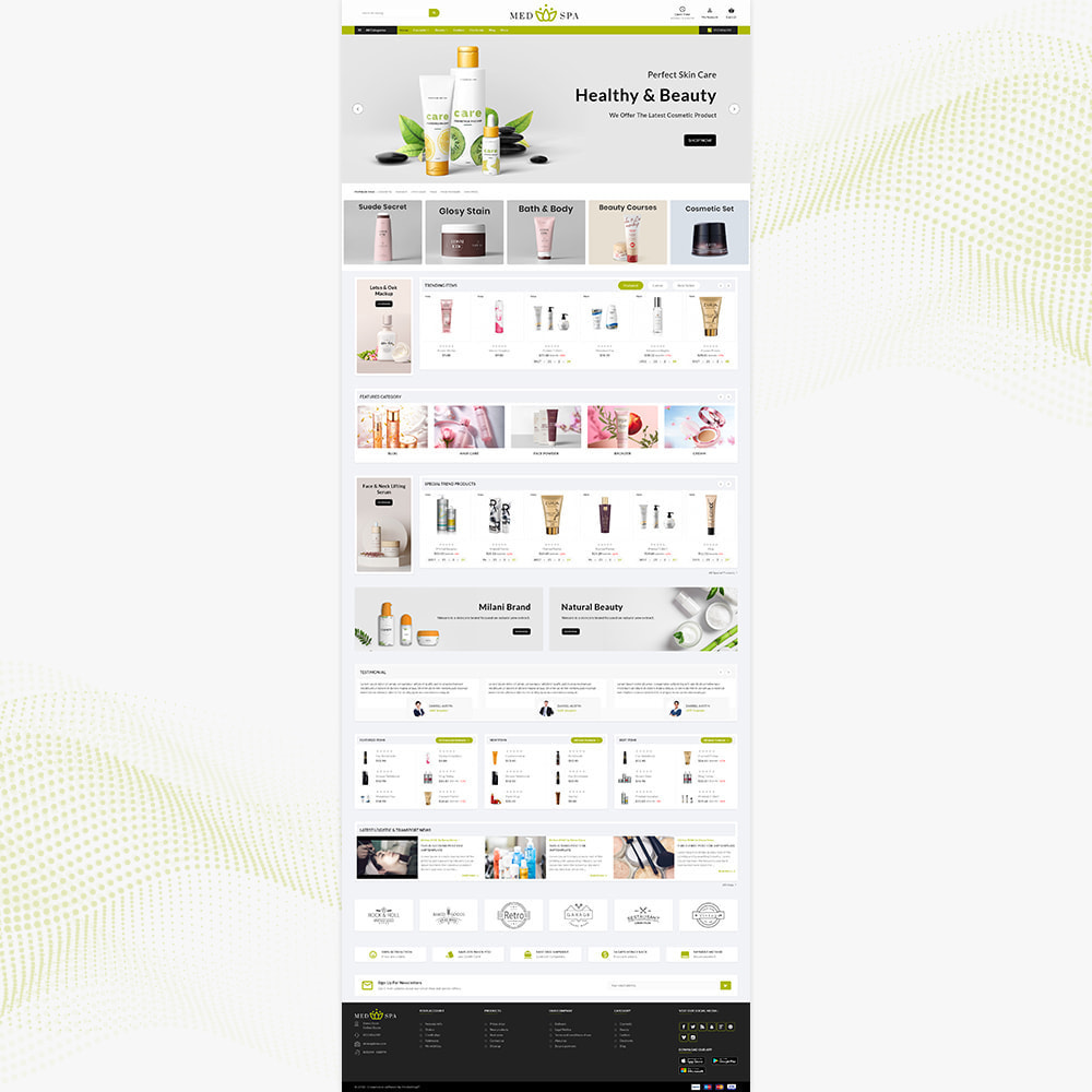 theme - Health & Beauty - cosmétique– Thai Cosmetic Spa Store - 2