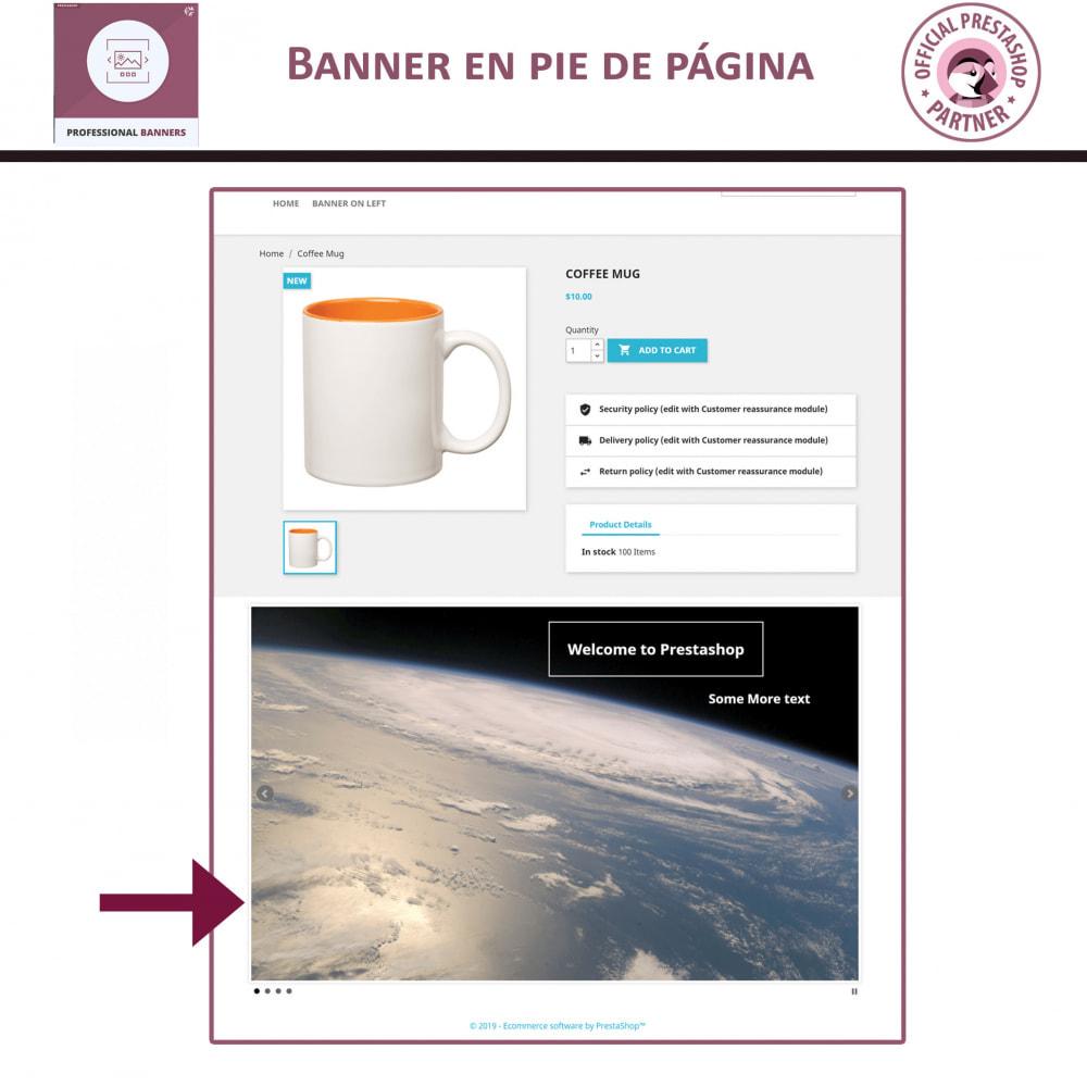 module - Sliders y Galerías de imágenes - Banners Profesionales, Control Deslizante Responsivo - 4