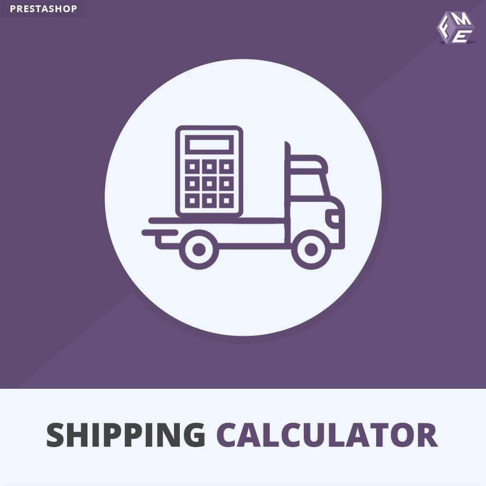 module - Koszty wysyłki - Wysyłka Oceniać Kalkulator - 1