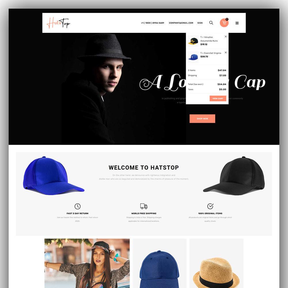 theme - Mode & Chaussures - Hatstop - Cap Store - 3