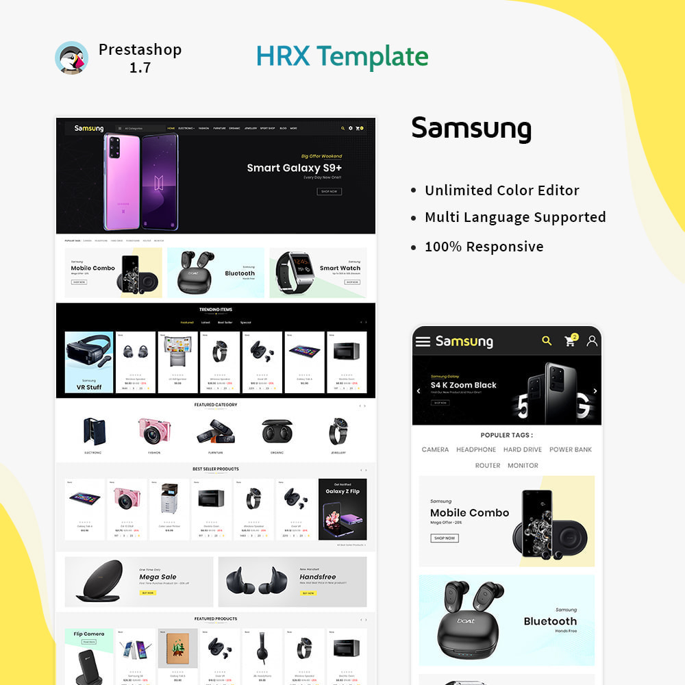 theme - Electronique & High Tech - Electro– Electronic Boost Smart Shop - 1