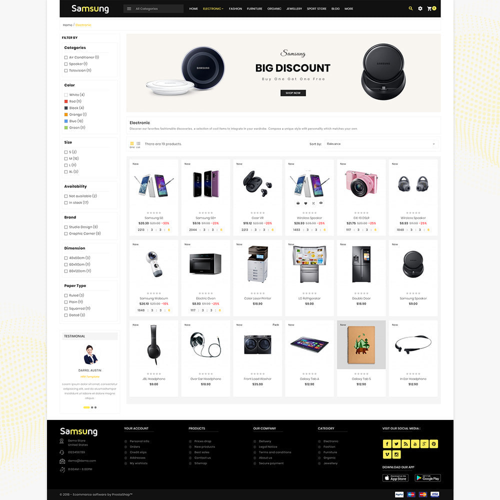 theme - Electronique & High Tech - Electro– Electronic Boost Smart Shop - 3