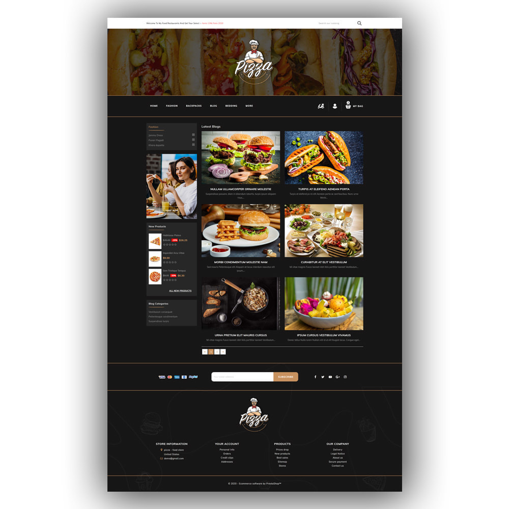 theme - Lebensmittel & Restaurants - Pizza - Food Store - 7