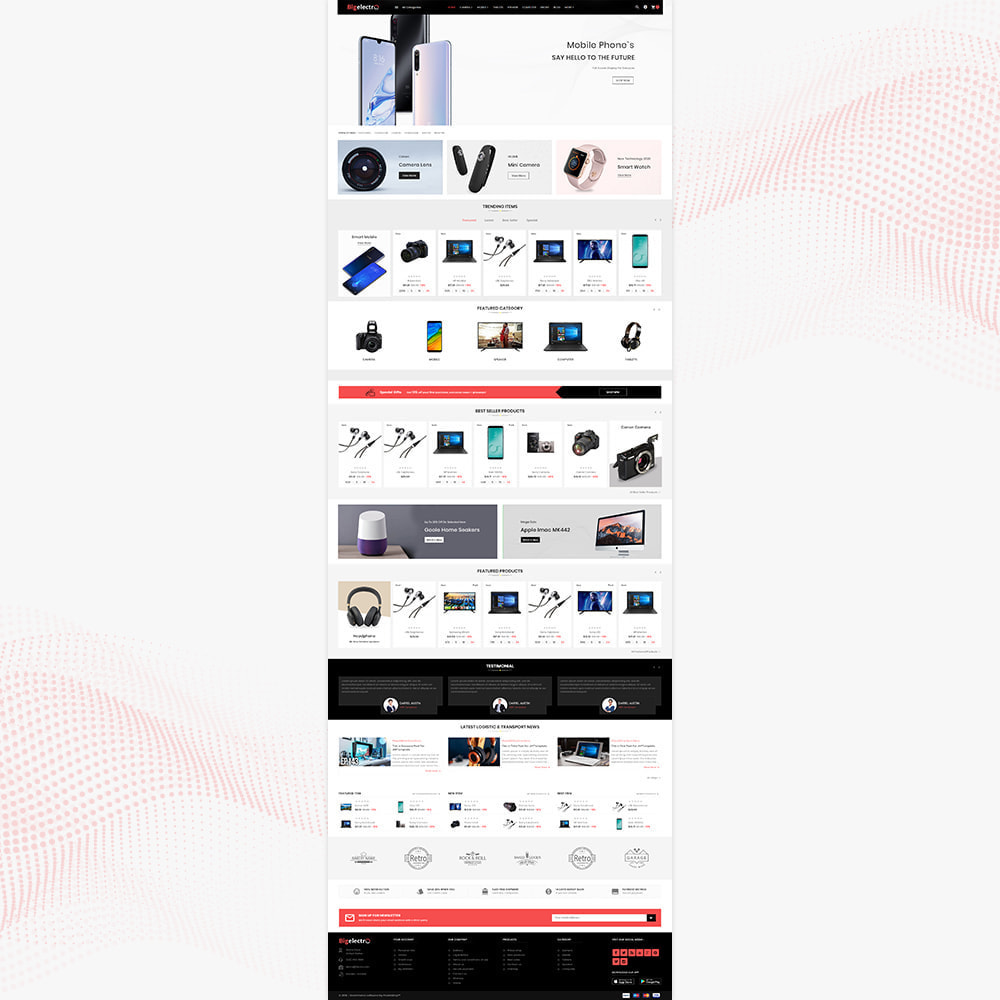 theme - Elettronica & High Tech - Electronics - Best digital Store - 2