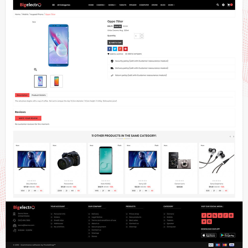 theme - Elettronica & High Tech - Electronics - Best digital Store - 4