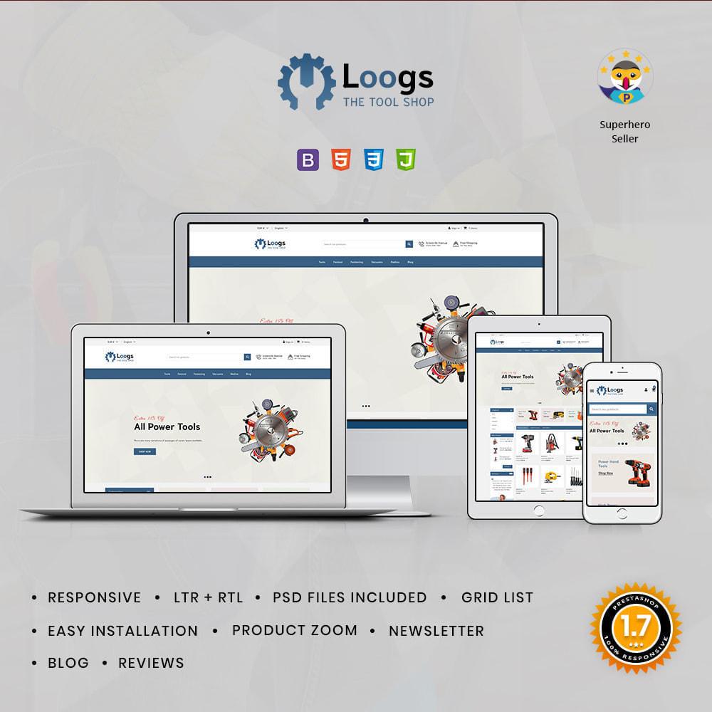 theme - Auto & Moto - Loogs Tools - 1