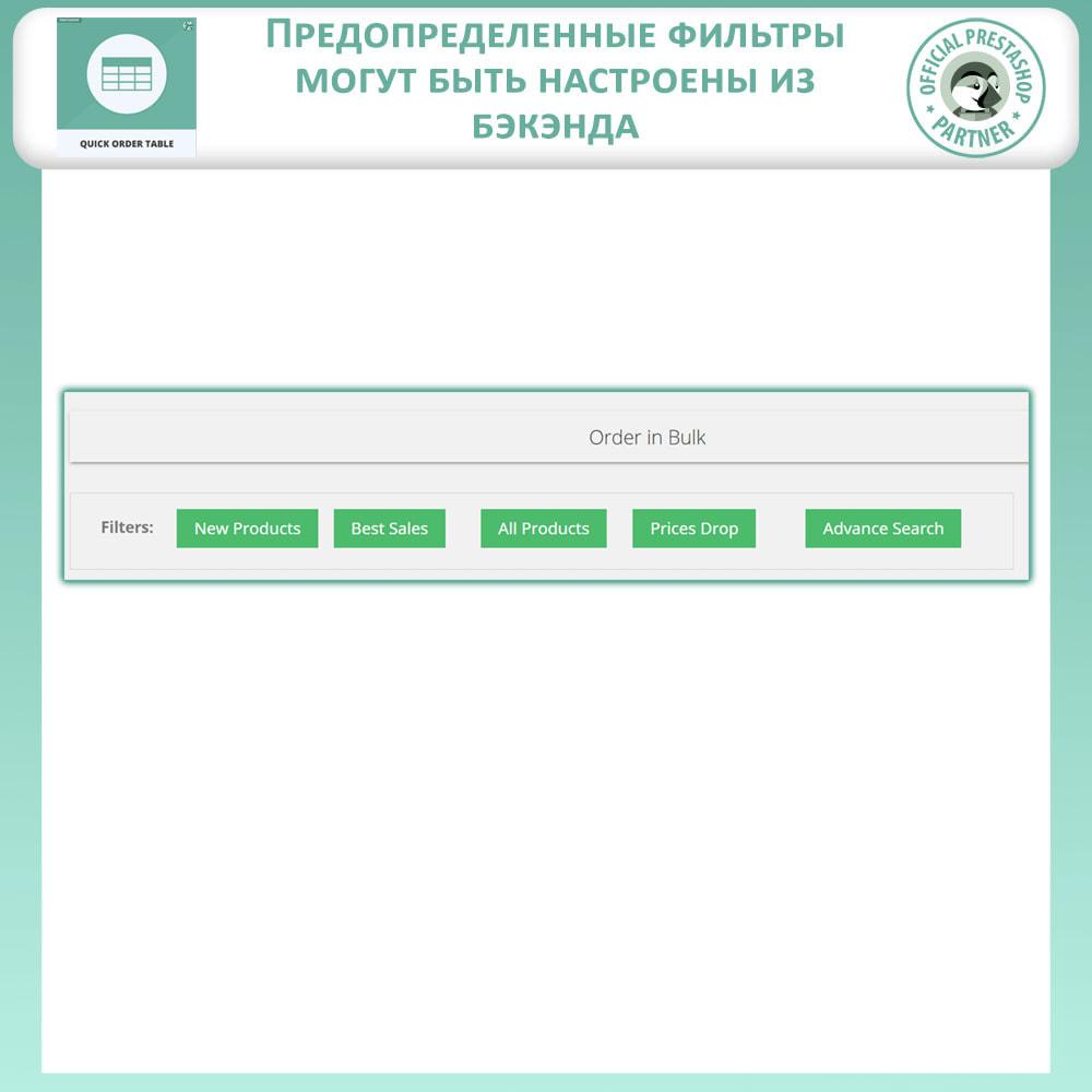 module - Управление заказами - Таблица быстрого заказа - 3