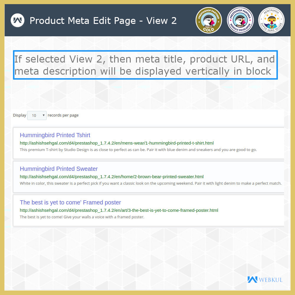 module - Fast & Mass Update - Custom Product & Category Meta Details - 7