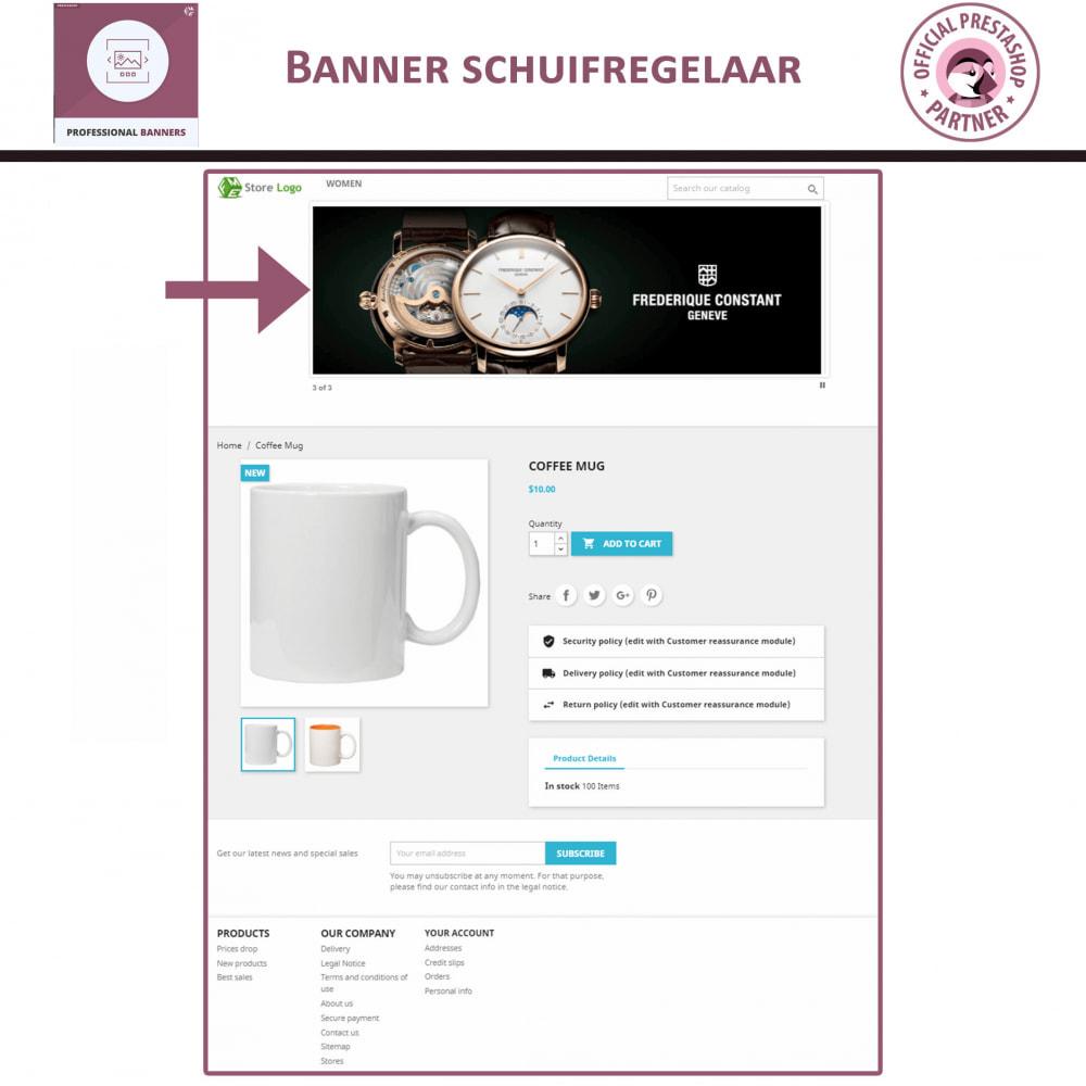 module - Gallerijen & Sliders - Professionele banner - Responsieve bannerschuifregelaar - 2
