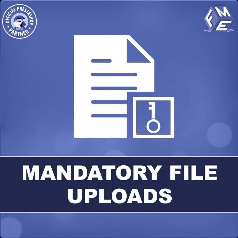 module - Altre informazioni & Product Tab - Caricamento File Obbligatorio - 1