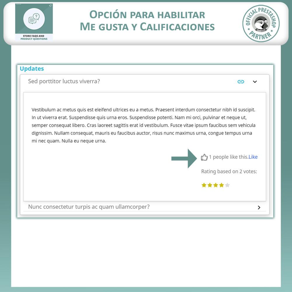 module - Preguntas Frecuentes - Reguntas Frecuentes + Preguntas del Producto - 5
