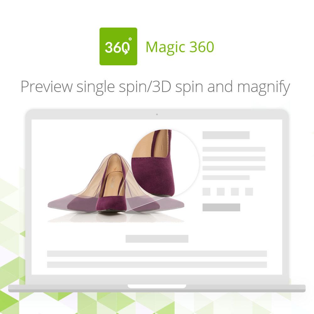 module - Visuels des produits - Magic 360 spin - 4