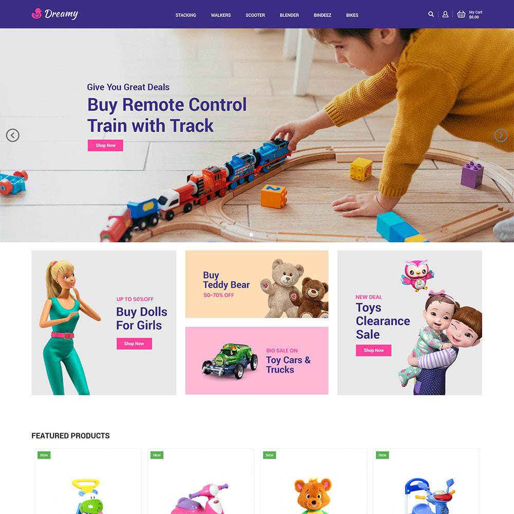theme - Enfants & Jouets - Dreamy Kids - Magasin de jeux de jouets - 2