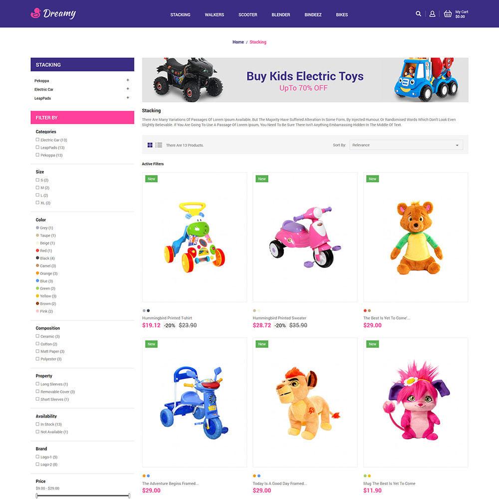theme - Enfants & Jouets - Dreamy Kids - Magasin de jeux de jouets - 4