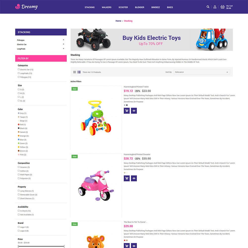 theme - Zabawki & Artykuły dziecięce - Dreamy Kids - Toys Game Store - 5