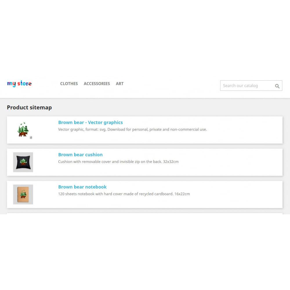 module - SEO (référencement naturel) - Advance Google SEO (XML & HTML) Sitemap Generator - 4