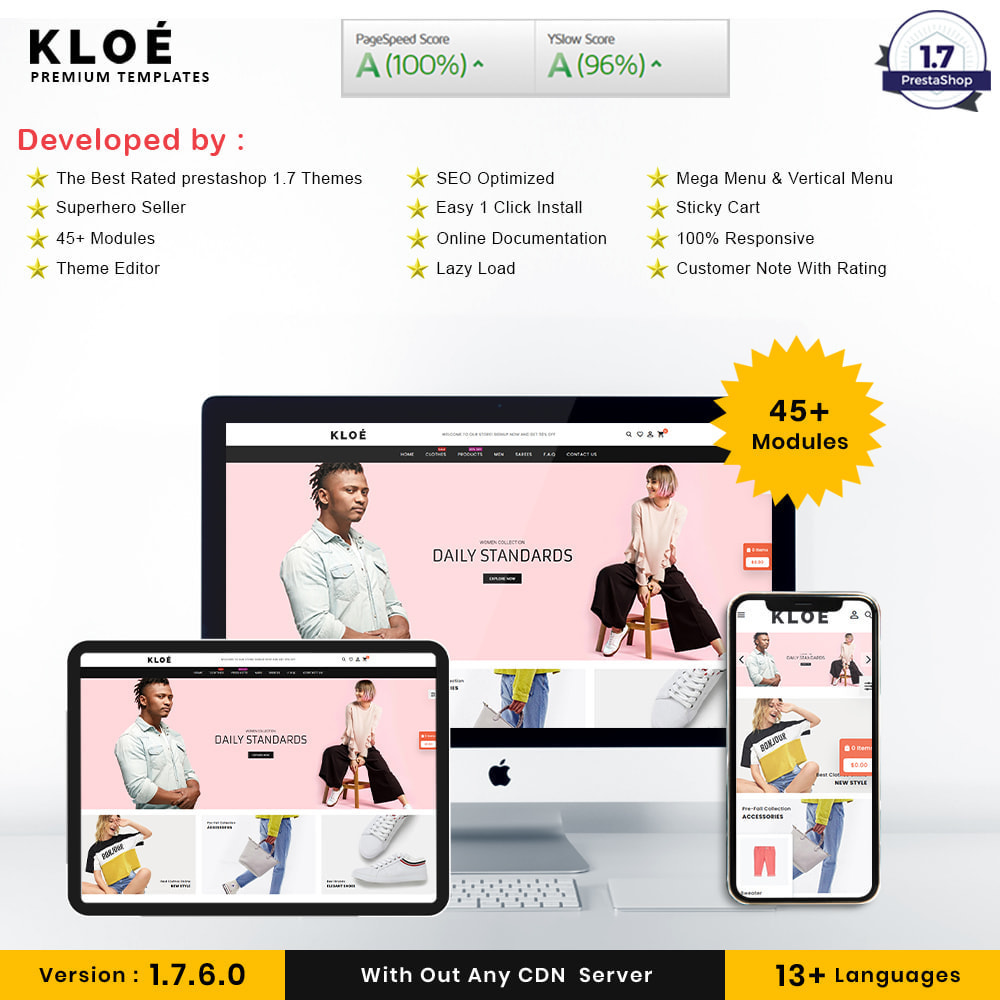 theme - Мода и обувь - Kloe Fashion Store - 1