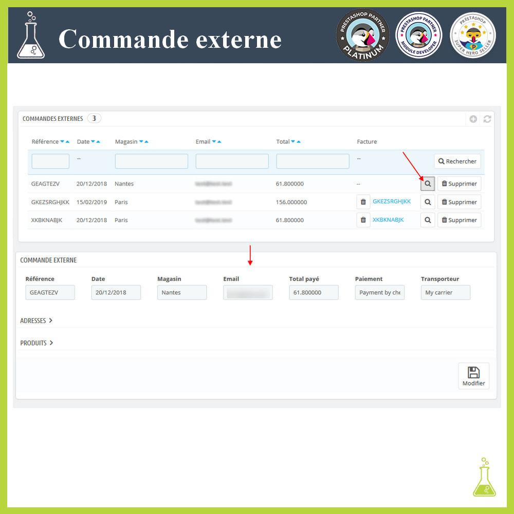 module - Order Management - Import external orders - 6
