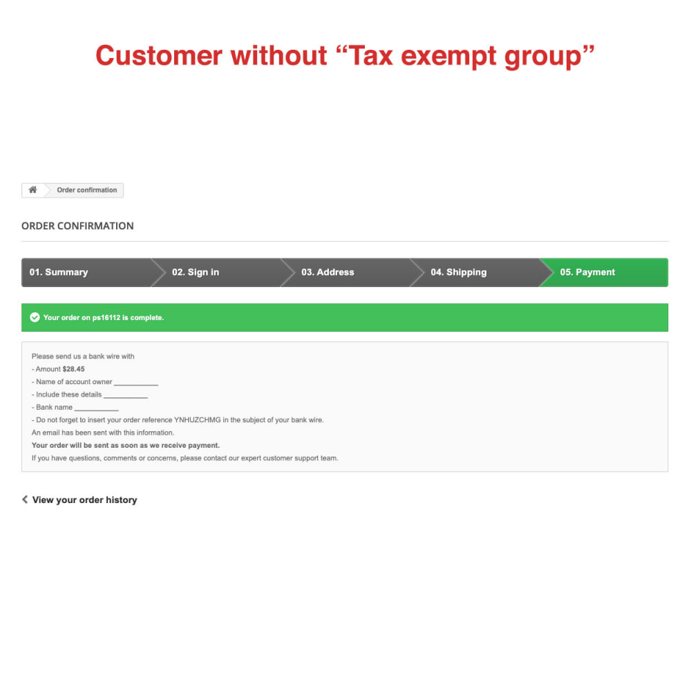 module - Boekhouding en fakturatie - Tax Exempt Group - 11