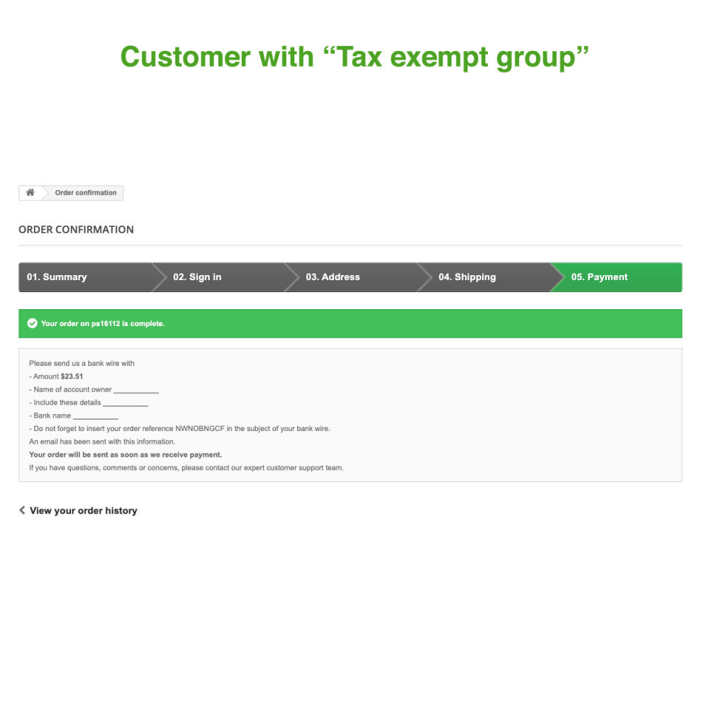 module - Boekhouding en fakturatie - Tax Exempt Group - 12