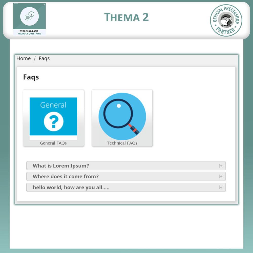 module - FAQ (Veelgestelde vragen) - Winkel FAQs + Product FAQs (Veelgestelde Vragen) - 4