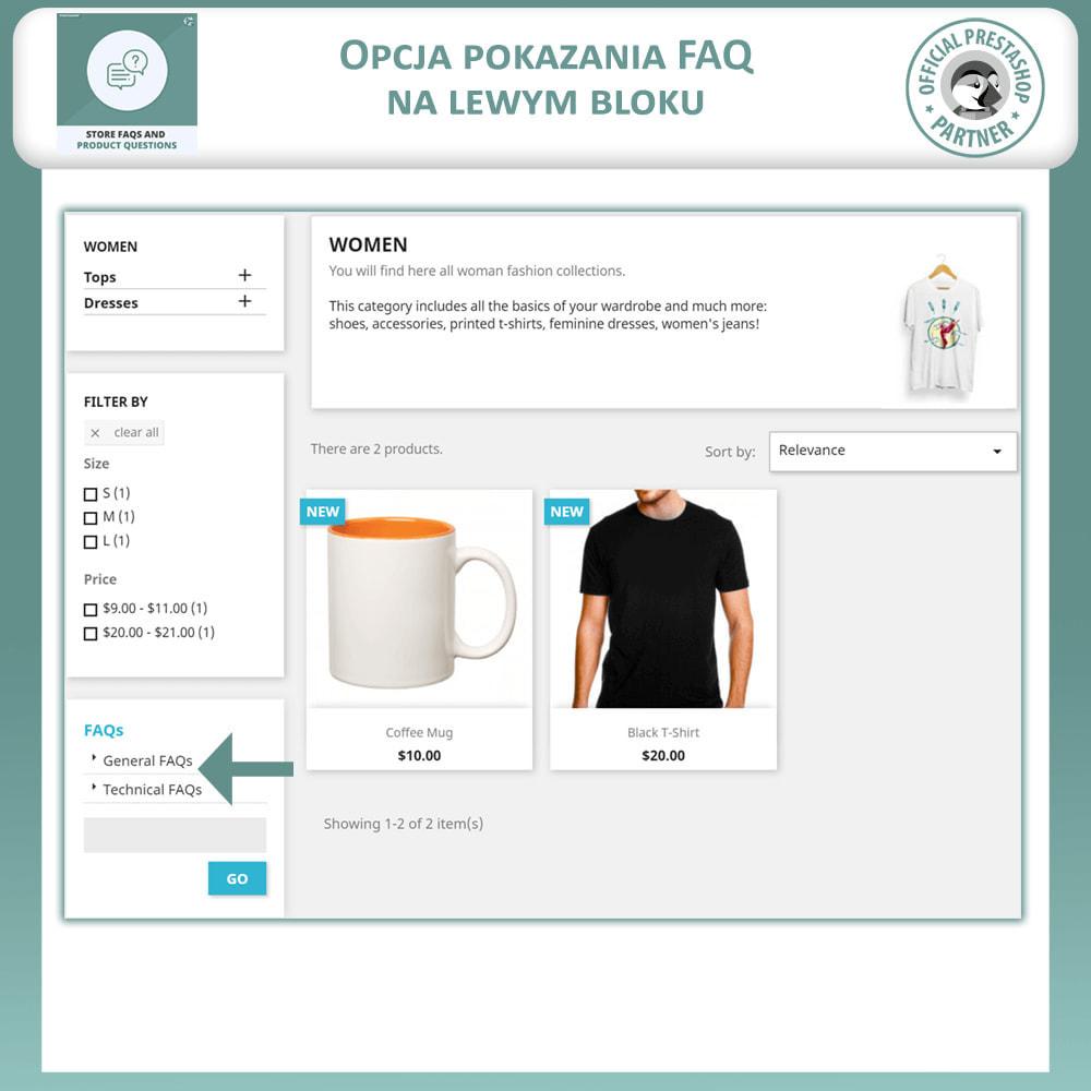 module - FAQ (Często zadawane pytania) - Sklep FAQs + Produkt FAQs (Często Zadawane Pytania) - 7