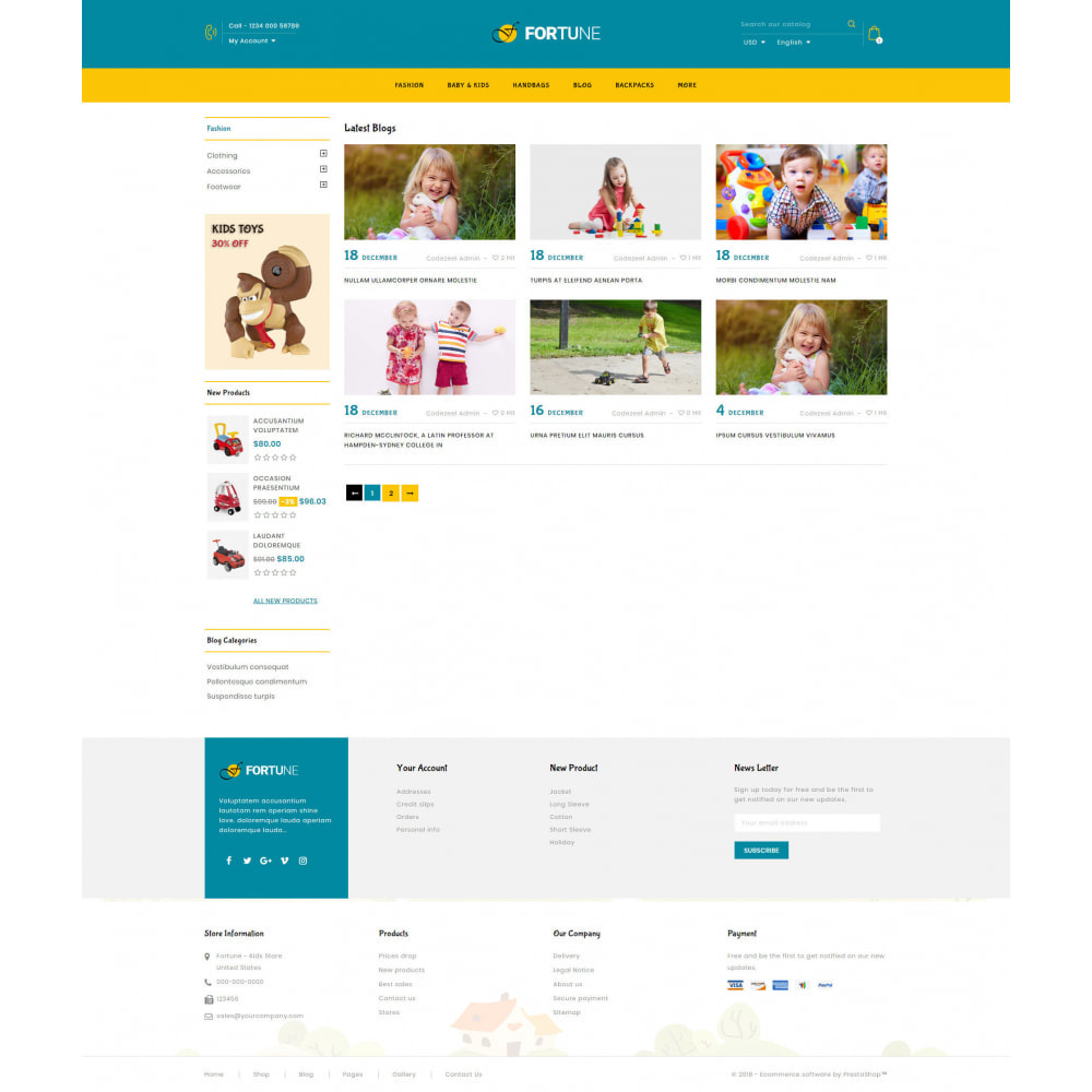 theme - Kids & Toys - Fortune - Kids Store - 9