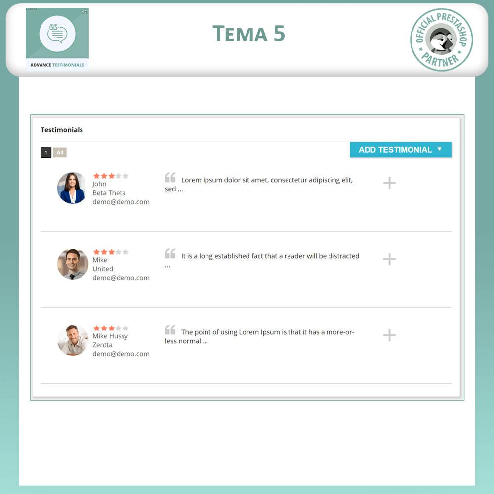 module - Recensioni clienti - Testimonianze anticipate - Recensioni Dei Clienti - 6