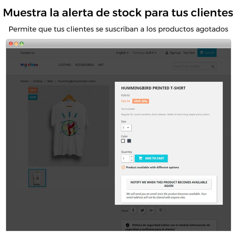 module - E-mails y Notificaciones - Alertas de Stock - Aviso de Productos Con Nuevo Stock - 2