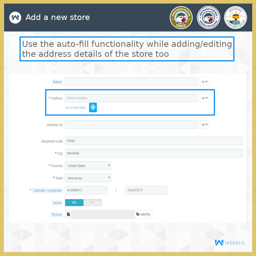 module - International & Localization - Auto-fill Address Form | Google Addresses - 17
