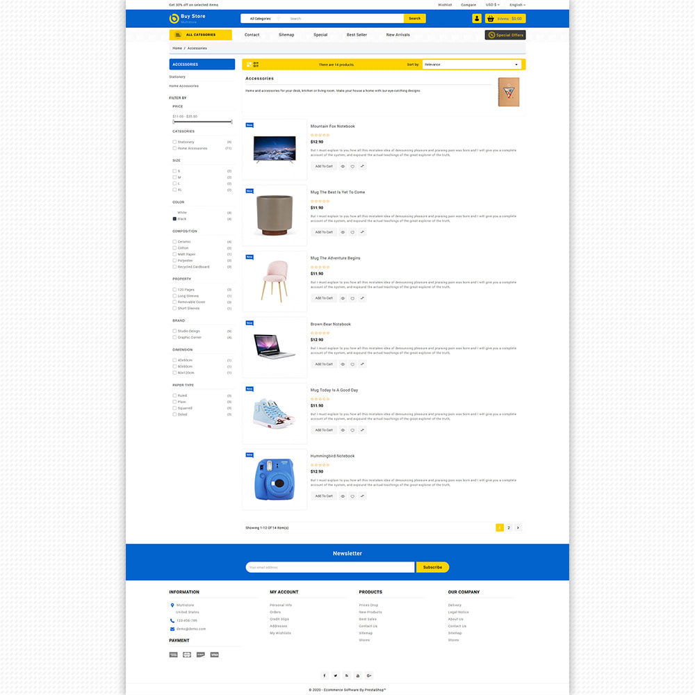 theme - Elektronik & High Tech - BuyStore - Multipurpose E-commerce Store - 8