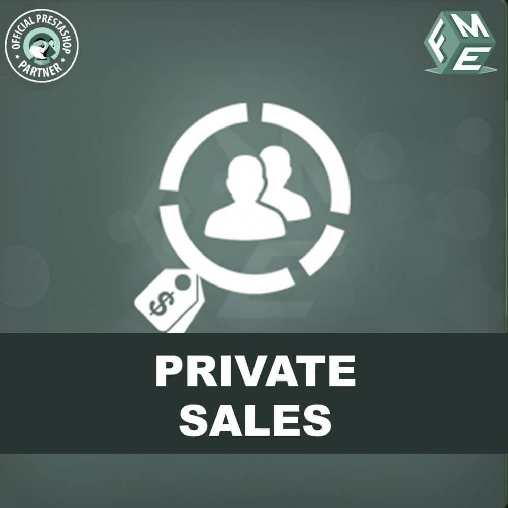 module - Flash & Private Sales - Private Verkauf für VIP-Kundengruppen - 1