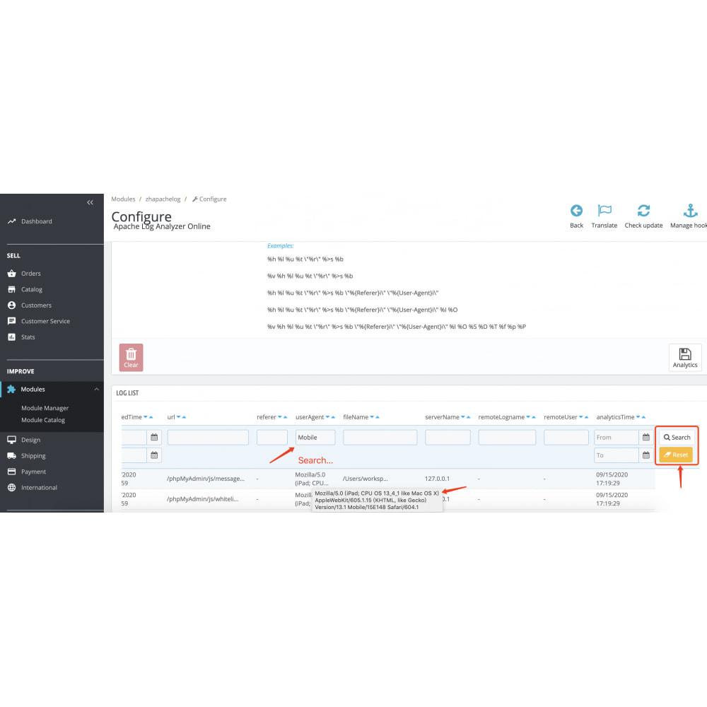 module - Remarketing & Shopping Cart Abandonment - Apache Log Analyzer - Mining Big Data for User Behavior - 5