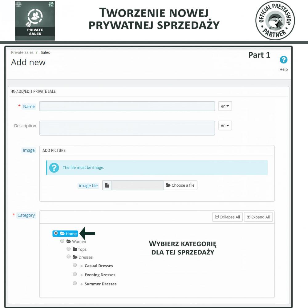module - Sprzedaż Flash & Sprzedaż Private - Prywatna wyprzedaże dla klientów w grupach VIP - 6