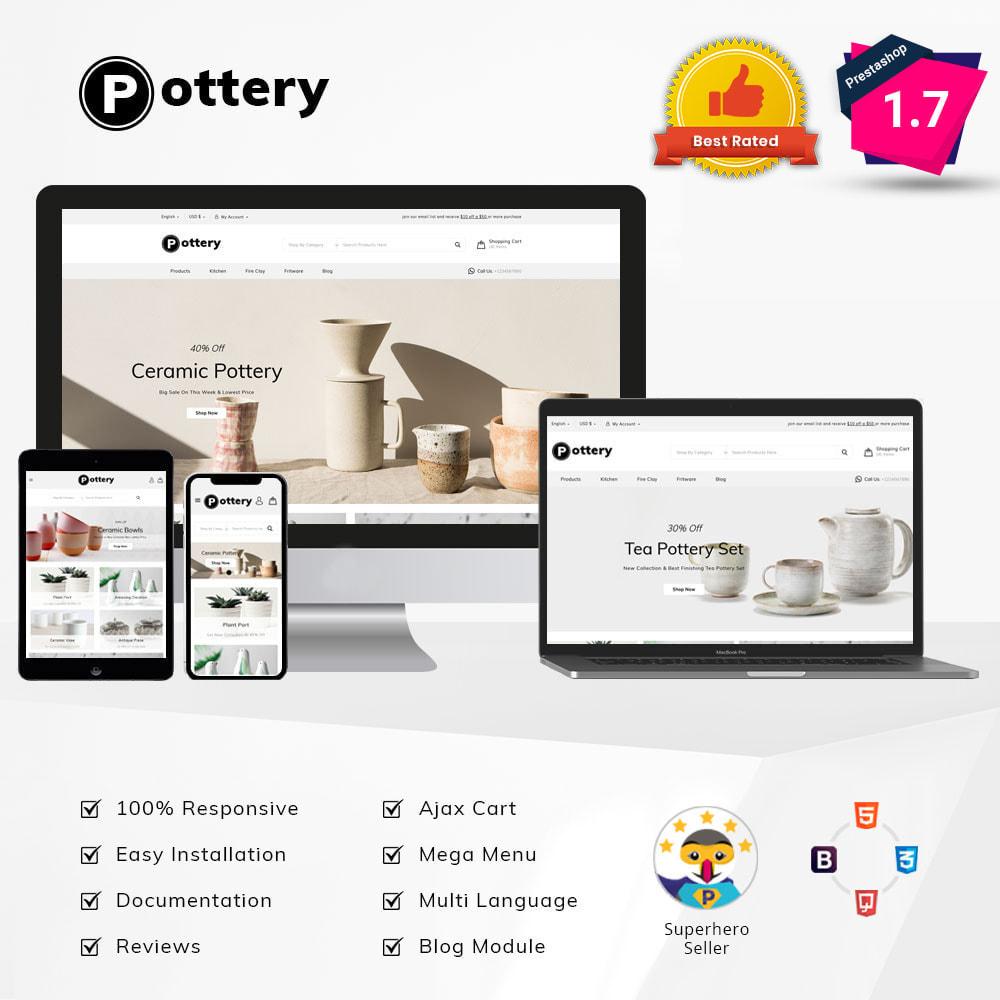 theme - Kultura & Sztuka - Pottery Store - 2