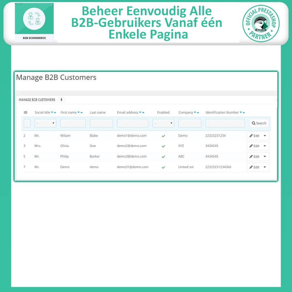 module - B2B - B2B E-commerce - 7