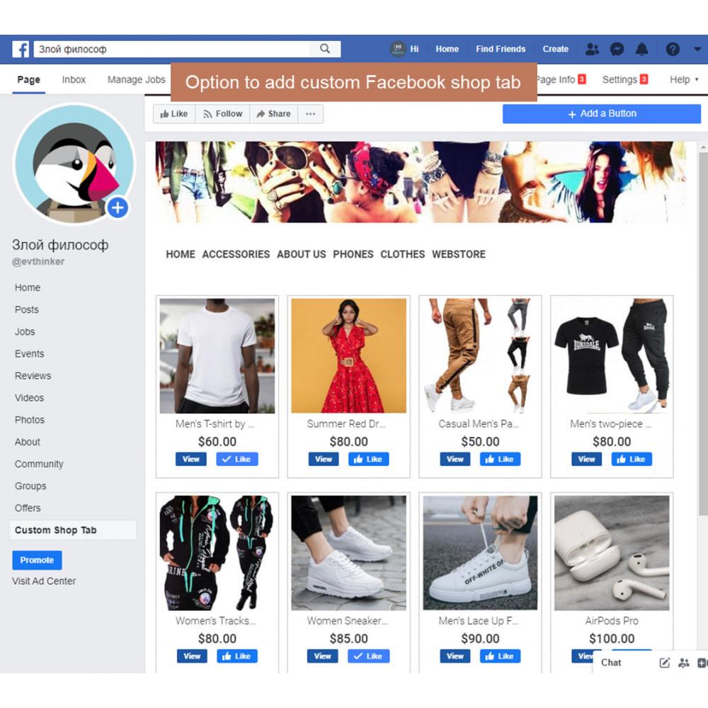 module - Deelknoppen & Commentaren - The Social Integration - Shop Tab, Comments, Login - 6
