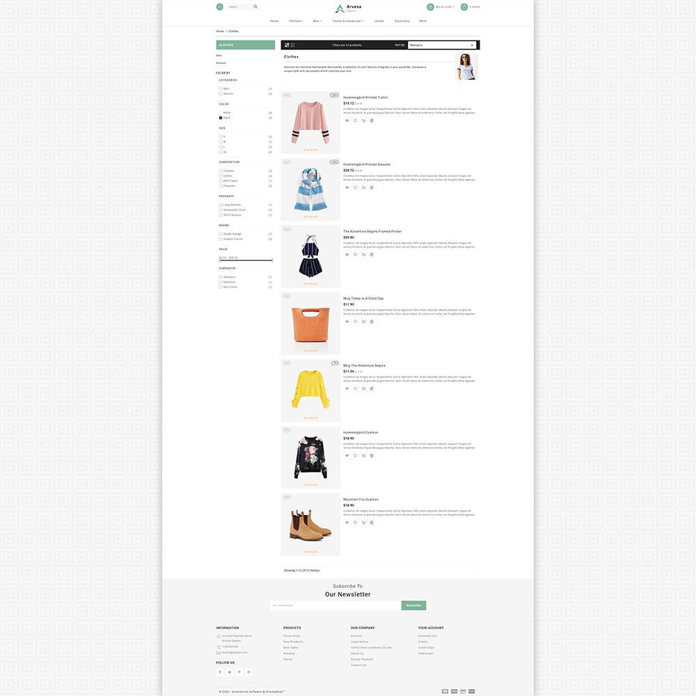 theme - Mode & Schuhe - Arvesa - Modern Fashion Store - 5