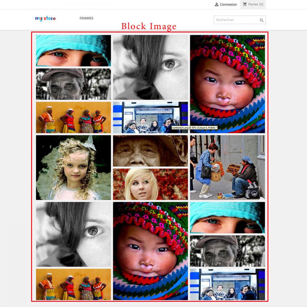 module - Blocks, Reiter & Banner - Home image block - 1