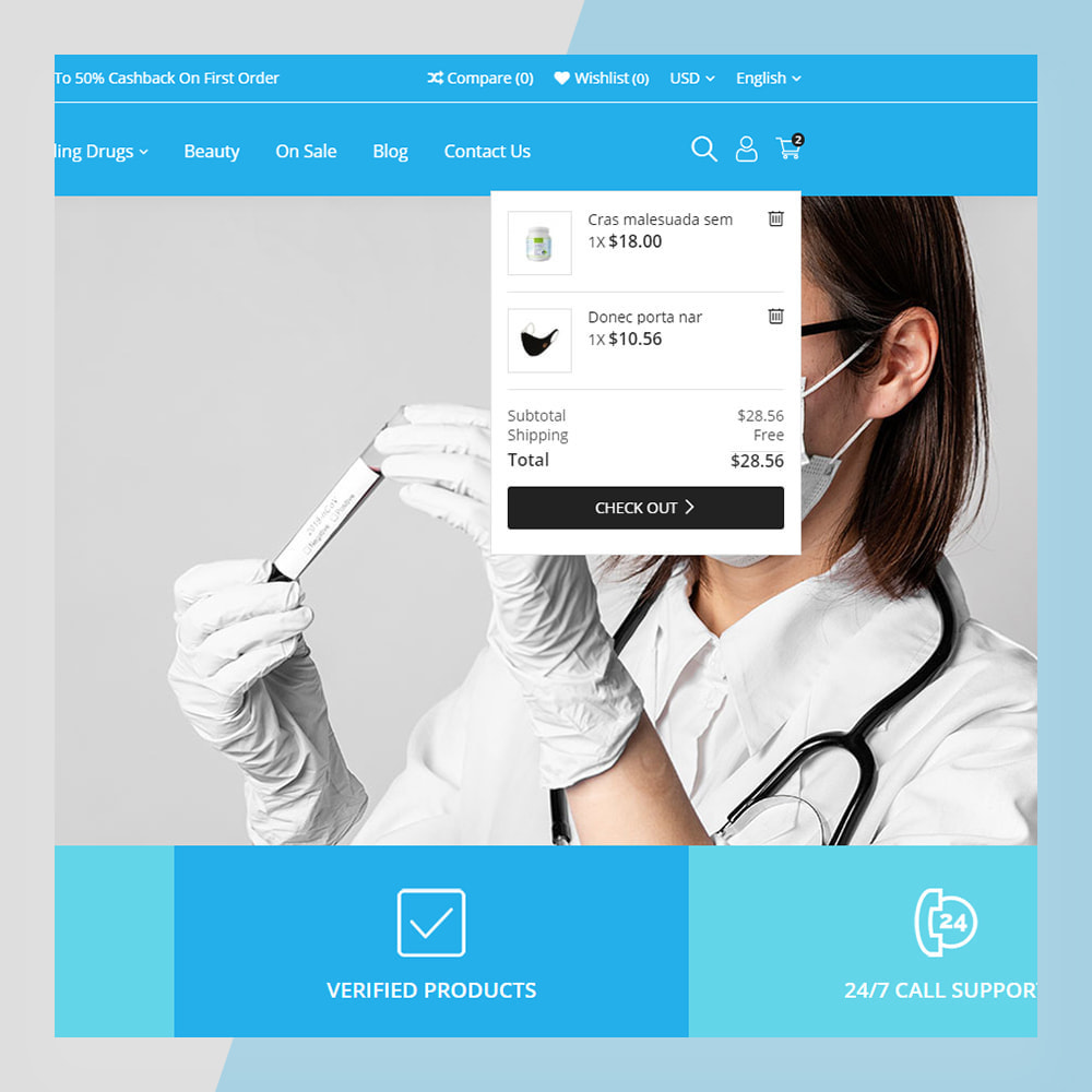theme - Zdrowie & Uroda - Medical Solutions - Medical and Medicine Store Template - 4