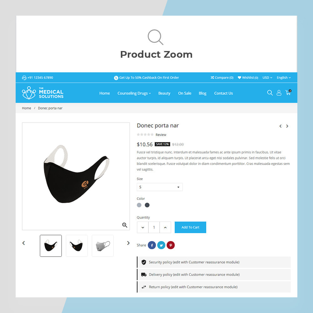 theme - Zdrowie & Uroda - Medical Solutions - Medical and Medicine Store Template - 8
