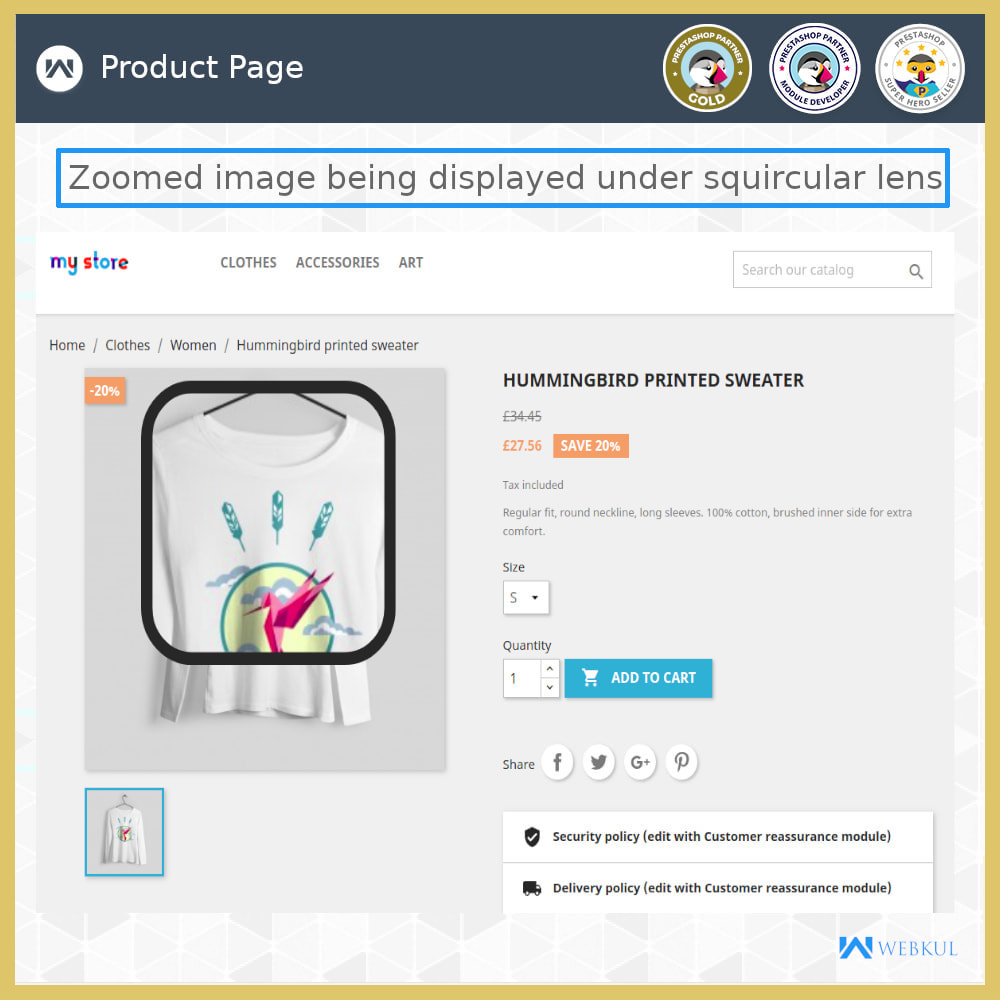 module - Visual dos produtos - Product Image Zoom - 8