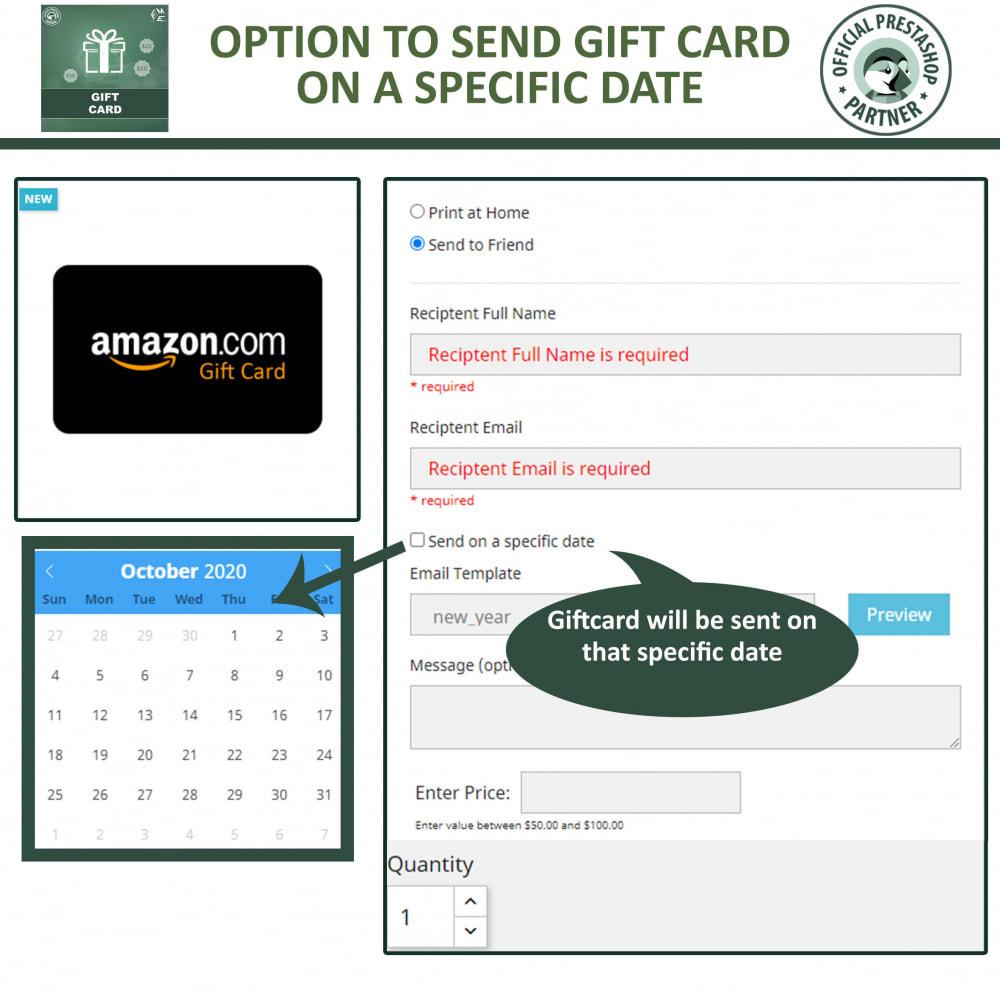 module - Lista de desejos & Vale-presente - Gift Card Module - Gift Certificates & Vouchers - 5
