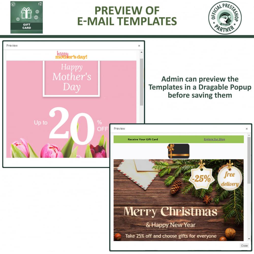 module - Lista de desejos & Vale-presente - Gift Card Module - Gift Certificates & Vouchers - 16
