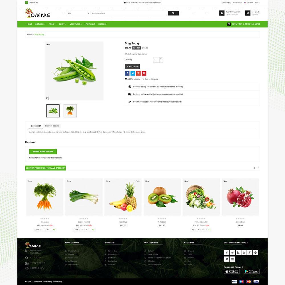 theme - Здоровье и красота - Indian Organic – Organic Super Store - 4