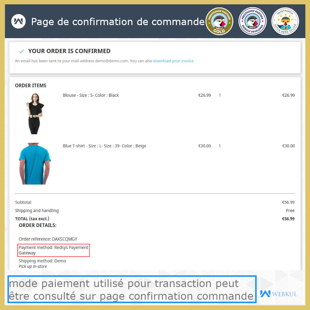 module - Paiement par Carte ou Wallet - Passerelle de paiement Redsys - 3